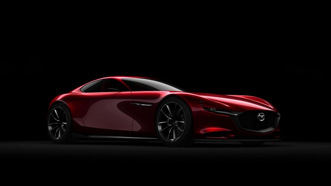 1920x1080 wallpapers: mazda, rx-vision, concept, side view (image)
