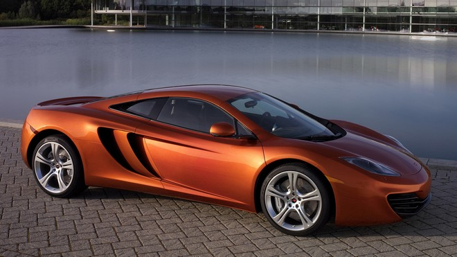 1920x1080 wallpapers: mclaren, mp4-12c, pool, car (image)