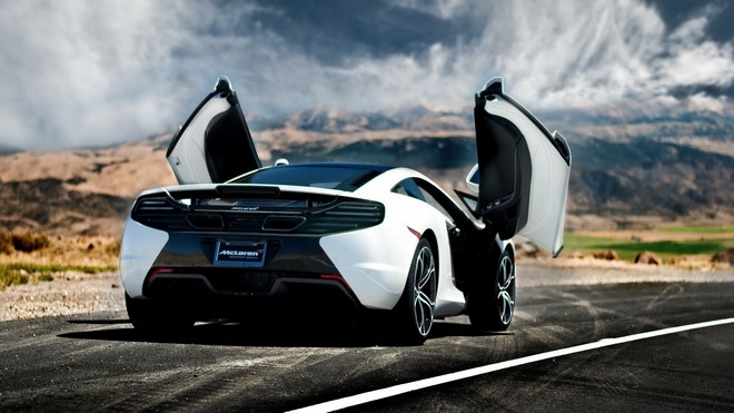 1920x1080 wallpapers: mclaren mp4-12c, mclaren, rear, car (image)