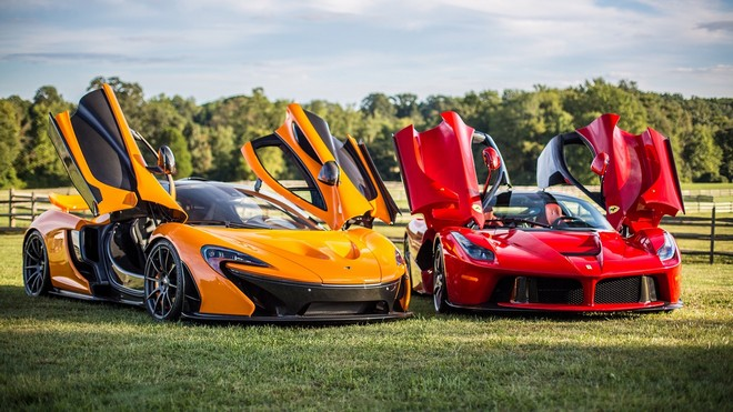 1920x1080 wallpapers: mclaren, p1, ferrari, laferrari (image)