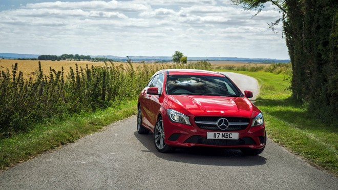 1920x1080 wallpapers: mercedes-benz, cla-class, x117, red (image)