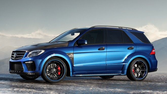 1920x1080 wallpapers: mercedes, ml 63 amg, inferno, blue (image)