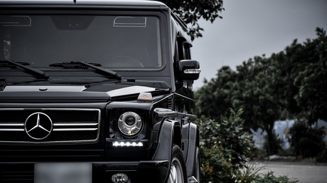 1920x1080 wallpapers: mercedes-benz g500, brabus, suv, luxury, front view (image)