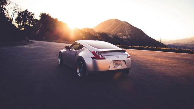 1920x1080 wallpapers: nissan, 370 z, car, movement, super (image)