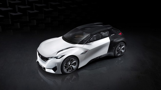 1920x1080 wallpapers: peugeot, fractal, concept, top view (image)