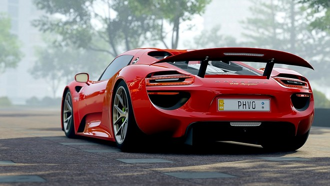 1920x1080 wallpapers: porsche 918, porsche, sports car, side view (image)