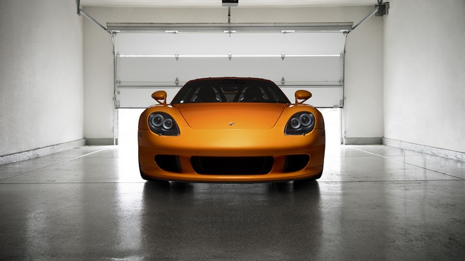1920x1080 wallpapers: porsche, carrera, gt, orange (image)