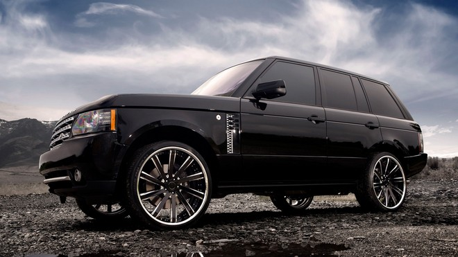 1920x1080 wallpapers: range rover, land rover, cars, cars, tuning, clouds (image)