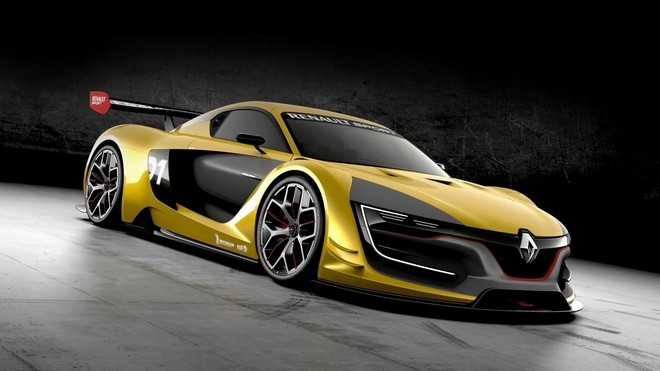 1920x1080 wallpapers: renault sport, rs 01, yellow, concept (image)