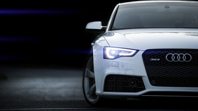 1920x1080 wallpapers: rs5, audi, white, front view (image)
