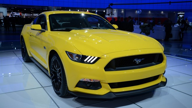 1920x1080 wallpapers: north american international auto show naias, ford, mustang, gt, car show, detroit, 2014, north american international auto show (image)