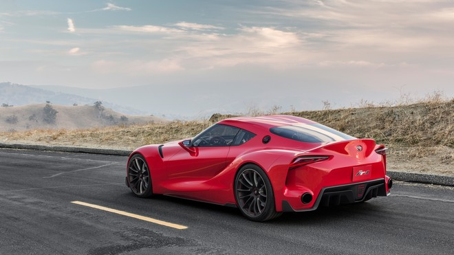 1920x1080 wallpapers: toyota, ft-1, red, car (image)
