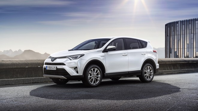 1920x1080 wallpapers: toyota, rav4, side view, white (image)