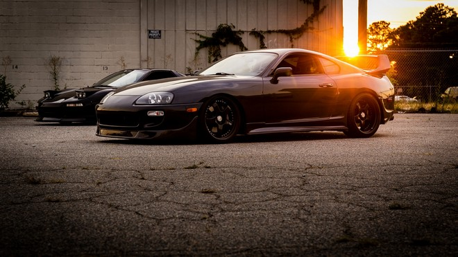 1920x1080 wallpapers: toyota, supra, side view, light (image)