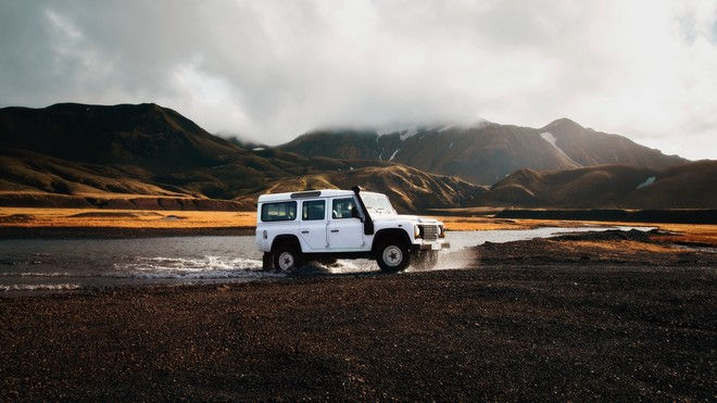 1920x1080 wallpapers: SUV, lake, trip, travel, iceland (image)