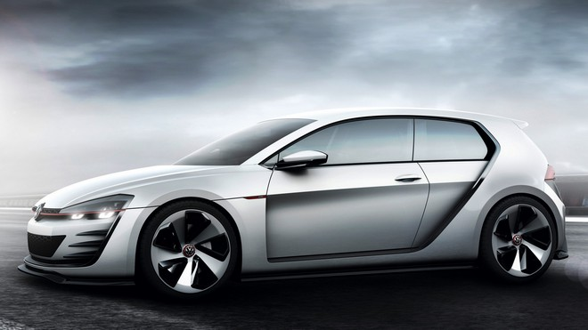 1920x1080 wallpapers: volkswagen, golf, design vision, concept (image)