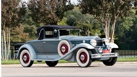 1931, packard deluxe eight convertible, coupe - wallpapers, picture