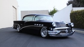 1956 buick century, vintage, auto, side view - wallpapers, picture