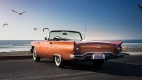 1957, ford, thunderbird - wallpapers, picture
