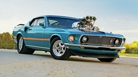 1969, ford, pro street, mustang - wallpapers, picture