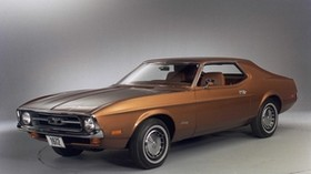 1972, ford, mustang, style - wallpapers, picture
