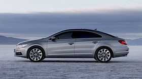 2009 volkswagen cc, volkswagen, silver, side view - wallpapers, picture