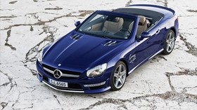 2013, mercedes benz, sl65, amg, convertible - wallpapers, picture