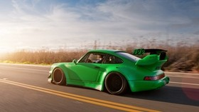 911, porsche, road, sports tuning - wallpapers, picture
