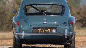 ac, aceca, 1954, blue, retro, rear view, nature, car - wallpapers, picture