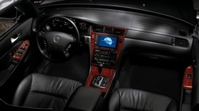 acura, 35rl, salon, interior, steering wheel, speedometer - wallpapers, picture