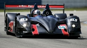 acura, arx-01, black, sport, track, movement, acura, front view, car - wallpapers, picture