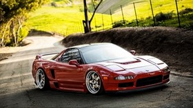 acura, auto, machine, cars, cars, grass - wallpapers, picture