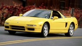 acura, nsx-t, yellow, front view, sport, acura, nxx-t, convertible, style, auto, speed - wallpapers, picture