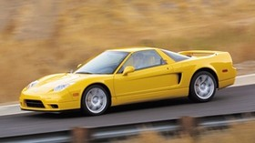 acura, nsx, yellow, style, side view, sport, acura, nsx, auto, speed, road, paints - wallpapers, picture