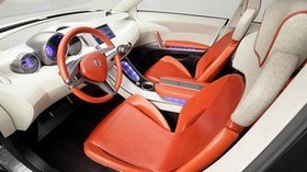 acura, rd-x, 2005, salon, interior, steering wheel, speedometer - wallpapers, picture
