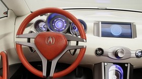 acura, rd-x, concept, 2005, salon, interior, steering wheel, speedometer - wallpapers, picture