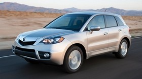 acura, rdx, white, jeep, side view, acura, auto, speed, style, mountains - wallpapers, picture