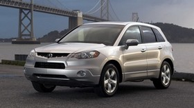 acura, rdx, white, front view, style, auto, acura, nature, bridge - wallpapers, picture