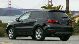 acura, rdx, black, jeep, rear view, auto, acura, style, bridge, nature - wallpapers, picture