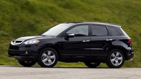 acura, rdx, black, side view, jeep, style, acura, auto, grass - wallpapers, picture