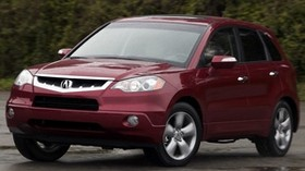 acura, rdx, red, jeep, style, front view, acura, auto, nature - wallpapers, picture