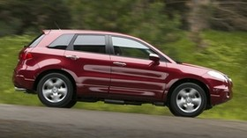 acura, rdx, red, jeep, side view, auto, acura, speed, nature - wallpapers, picture
