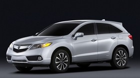 acura, rdx, prototype, 2012, metallic gray, side view, acura, style, car - wallpapers, picture