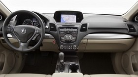 acura, rdx, salon, interior, steering wheel, speedometer - wallpapers, picture