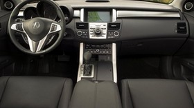 acura, rdx, salon, interior, steering wheel, speedometer, nature - wallpapers, picture