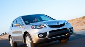 acura, rdx, silver metallic, jeep, front view, auto, acura, speed, track - wallpapers, picture