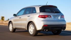 acura, rdx, silver metallic, jeep, rear view, acura, auto, speed, style, road - wallpapers, picture
