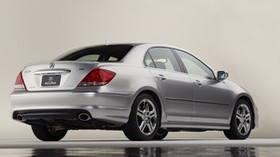 acura, rl, a-spec, silver metallic, rear view, style, acura, auto, reflection, water - wallpapers, picture