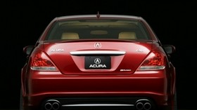 acura, rl, concept, 2005, red, rear view, style, acura, concept car, car - wallpapers, picture