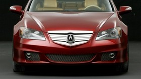 acura, rl, concept, red, front view, style, acura, concept car, auto - wallpapers, picture
